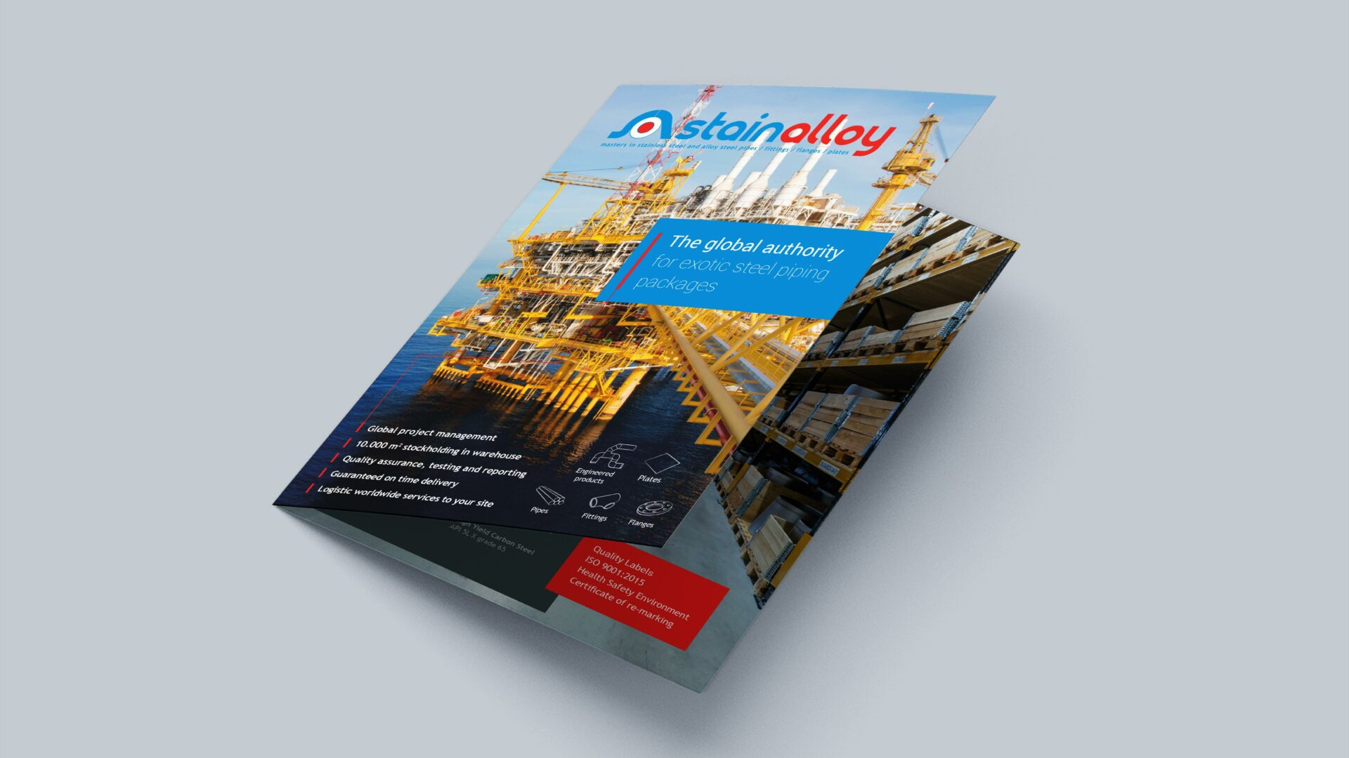 Corporate brochure Stainalloy